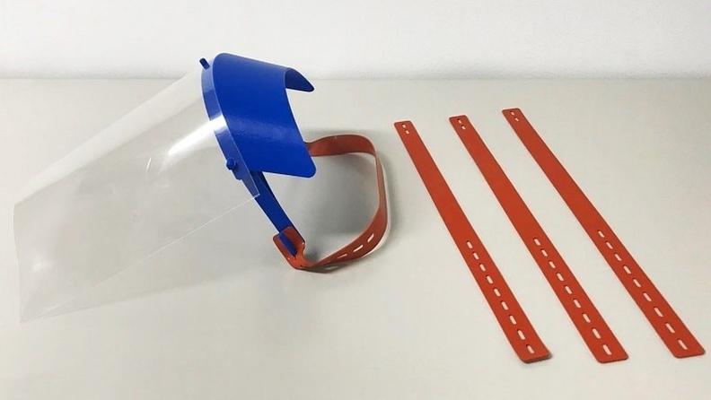 paski silikonowe do przyłbic